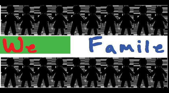 We R Famile Logo
